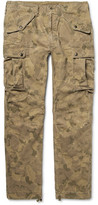 RRL - Miller Camouflage-print Cotton-blend Cargo Trousers