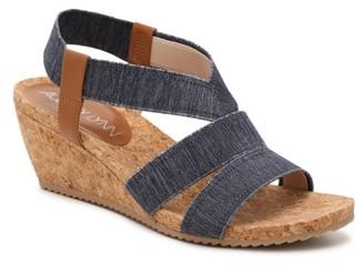 Aubrey Lynn Cabrini Wedge Sandal