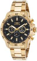 Invicta 21506 Men's Specialty Multi-Function 18K Gold Plated Ss Dial Watch