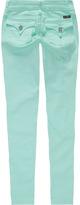 SCISSOR Flap Pocket Girls Anklet Jeans
