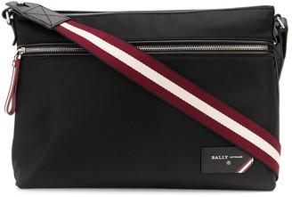 Bally logo patch briefcase