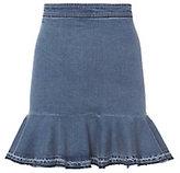 Exclusive for Intermix Kara Frayed Mini Skirt
