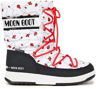 Moon Boot Printed Shell Snow Boots