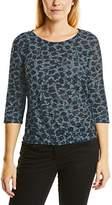 Cecil Women's Burn Out Aop T-Shirt