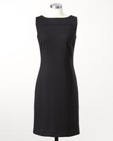 Coldwater Creek Ponte little black dress