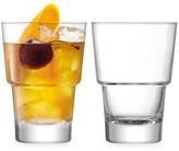 LSA International Mixologist Two-Piece Cocktail Tumbler Set