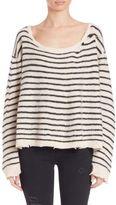 RtA Oversized Distressed Cashmere Sweater