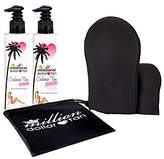 Million Dollar Tan Cabana Tan Extreme Face/Body& Mitt Set