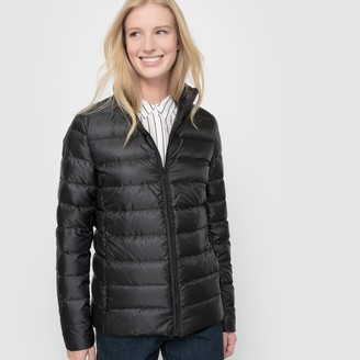 La Redoute Collections Light Puffer Jacket with Real Feather Padding