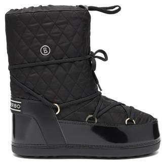 Bogner Tignes Quilted Lace-up Snow Boots - Womens - Black