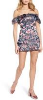 For Love & Lemons Women's Flora Off The Shoulder Minidress