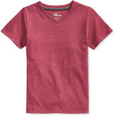 Epic Threads Little Boys' V-Neck Single Dyed T-Shirt, Only at Macy's