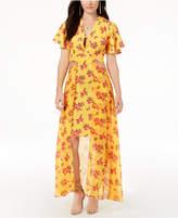 XOXO Juniors' Cutout Maxi Dress