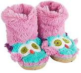 Hatley Girls' Lbh Kids Owls Hi-Top Slippers,S Child UK