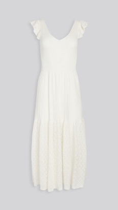 La Vie Rebecca Taylor Sleeveless Pointelle Dress