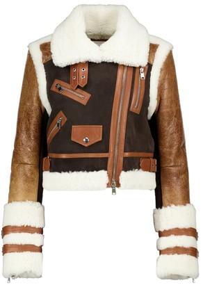 Alexander McQueen Shearling jacket