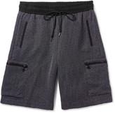 John Elliott - Tangleweave Slim-fit Mélange Woven Drawstring Shorts