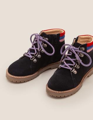 Boden Suede Stripy Boots