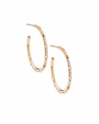 Kendra Scott Cybil Earrings in White Diamond
