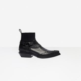 Balenciaga Harness Santiag Boot