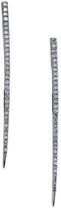 Sheryl Lowe Pave Diamond Spike Earrings