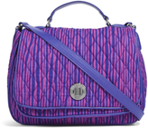 Vera Bradley Impressionista Stripe Turn-Lock Crossbody Bag