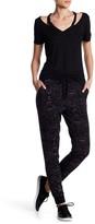 Dex Knit Print Drawstring Pants