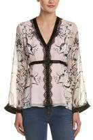 Nanette Lepore Bellagio Silk Blouse.