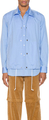 Comme des Garçons Shirt Long Sleeve Shirt in Blue | FWRD