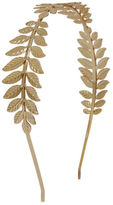 Yours Clothing Yoursclothing Brooches Womens Leaf Design Ladies Headband Hair Band Golden
