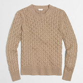 J.Crew Factory Metallic cable sweater