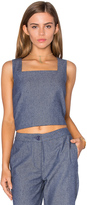 Lucy Paris Boxed Crop Top