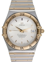 Omega Vintage Constellation Chronometer 18K Yellow Gold & Stainless Steel Watch