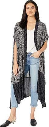O'Neill Women's Afternoon Woven Short Sleeve Kimono