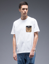 Whiz Leopard Pocket S/S T-Shirt
