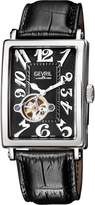 Gevril Watches Men's Avenue of Americas Intravedre Open Heart Automatic Watch, 44mm
