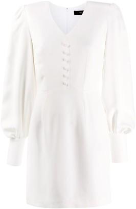 FEDERICA TOSI V-Neck Mini Dress