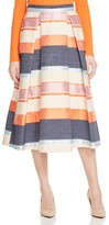 Whistles Striped Jacquard Midi Skirt - 100% Bloomingdale's Exclusive