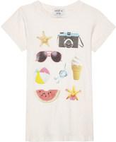 Wildfox Couture Beach Essentials cotton T-shirt 4-6 years
