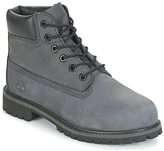 Timberland 6 IN PREMIUM WP BOOT girls's Mid Boots in Grey