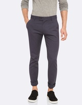 Oxford Slim Leg Cotton Trousers