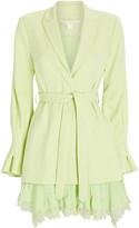 Jonathan Simkhai Victoria Lace-Trimmed Blazer Dress