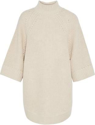 Alice + Olivia Herma Oversized Knitted Turtleneck Sweater