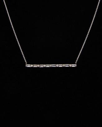 Meira T 14K & Silver 1.71 Ct. Tw. Diamond & White Topaz Necklace