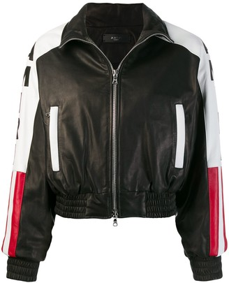 Amiri American flag bomber jacket