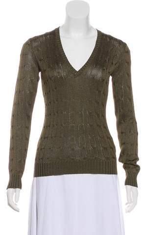 Ralph Lauren Black Label Silk Lightweight Sweater