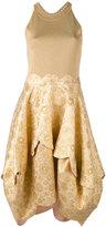 Antonio Berardi embroidered flared dress - women - Rayon/Polyester - 42