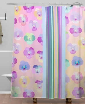 Deny Designs Iveta Abolina Moselle Bande I Shower Curtain Bedding