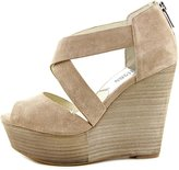 MICHAEL Michael Kors Ariel Wedge Women US 9.5 Nude Wedge Heel