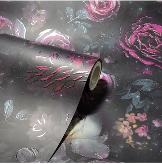Arthouse Glitter Dark Magic Wallpaper